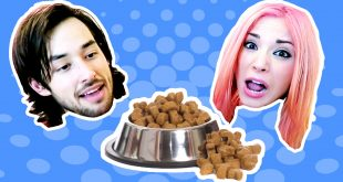 Eating-Cat-and-Dog-Food-Challenge-Tumble-Bugs