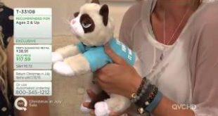 Grumpy-Cat-Life-Size-Plush-with-Shirt-and-Accessories-on-QVC