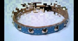 Studded-Leather-cat-collars-Leather-breakaway-Cat-Collars-CoolCatGear-Studded-Leather-cat-collars